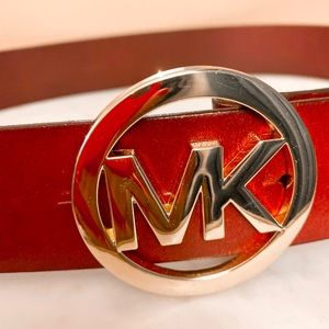 Women's Michael Kors Genuine Leather Belt